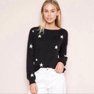 Brandy Melville Alanis Star Print Sweater